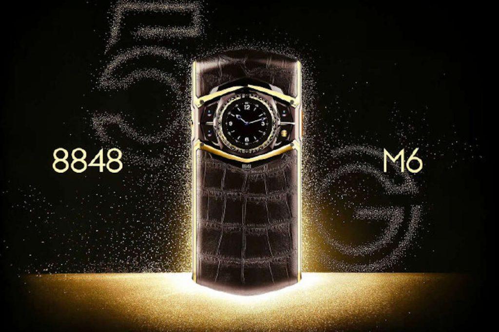 Титановый флагман 8848 Titanium M6 5G получит 12 Гб ОЗУ и 1 Тб ПЗУ
