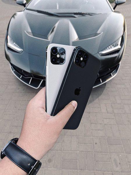 Инсайдер распространил рендерные изображения iPhone 12