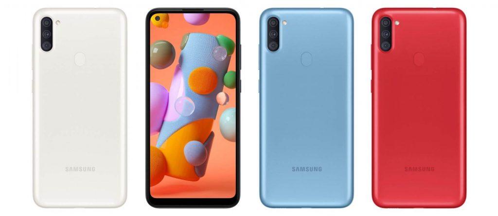 Представлен новый бюджетный смартфон Samsung Galaxy A11