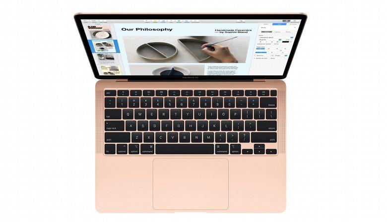 Apple обновила свой самый дешевый ноутбук