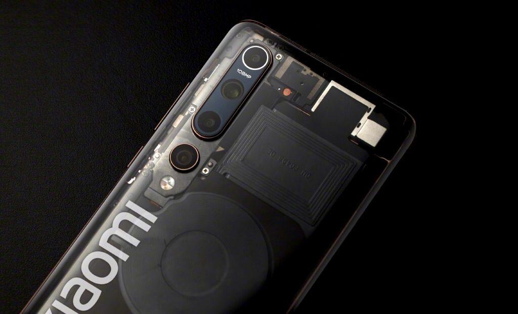 Xiaomi выпустит прозрачный смартфон Mi 10 Explorer Edition