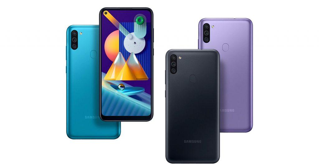 Samsung представила смартфон Galaxy M11 с большой батареей