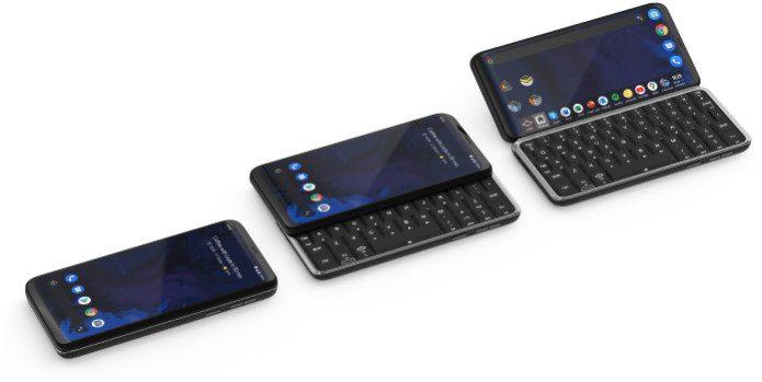 Planet Computers представила 5G-смартфон Astro Slide