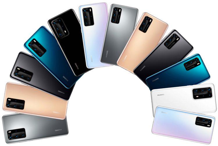 Huawei P40 и P40 Pro показали на новых рендерах