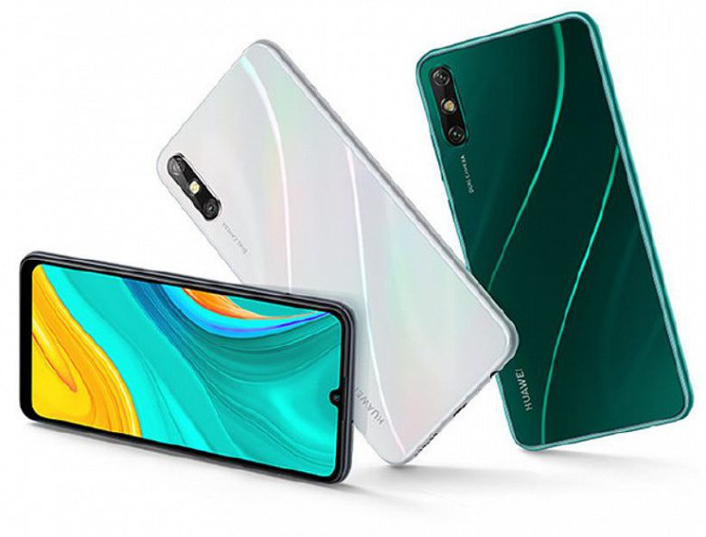 Представлен бюджетный смартфон Huawei Enjoy 10e с АКБ на 5000 мАч