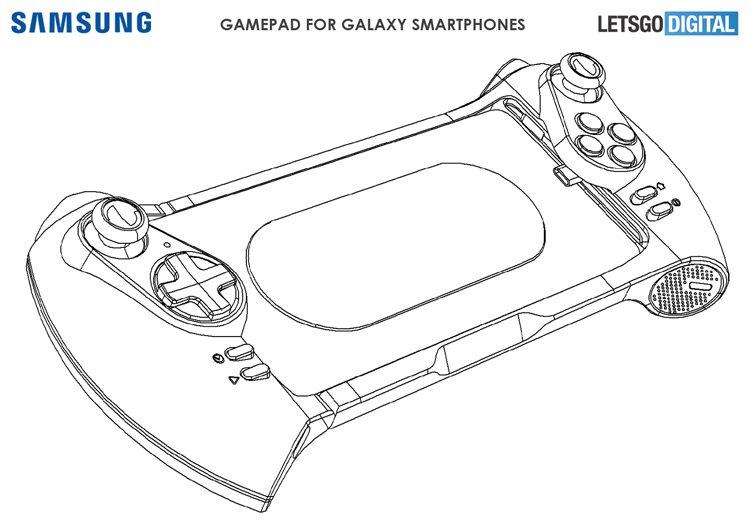 Samsung запатентовал геймпады для смартфонов