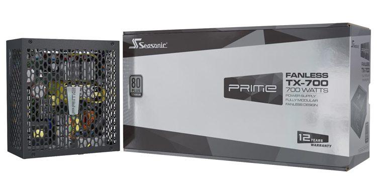 SeaSonic выпустила безвентиляторные блоки питания мощностью до 700 Вт