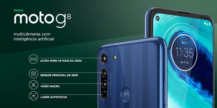 Motorola представила недорогой смартфон Moto G8