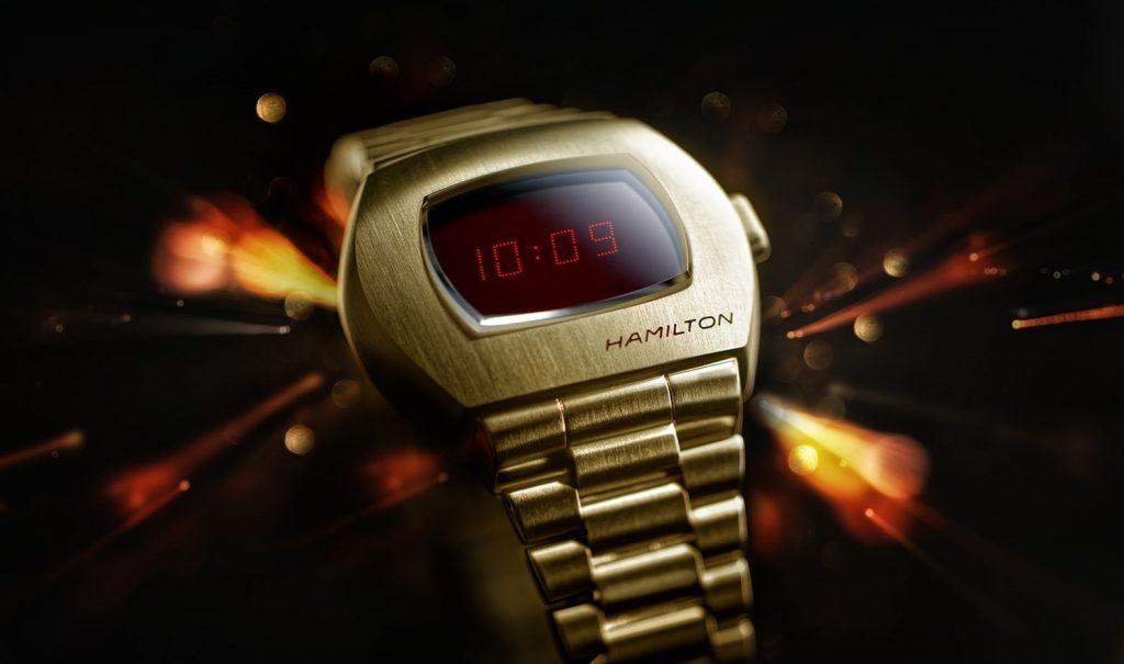 Hamilton перевыпустила первые электронные часы