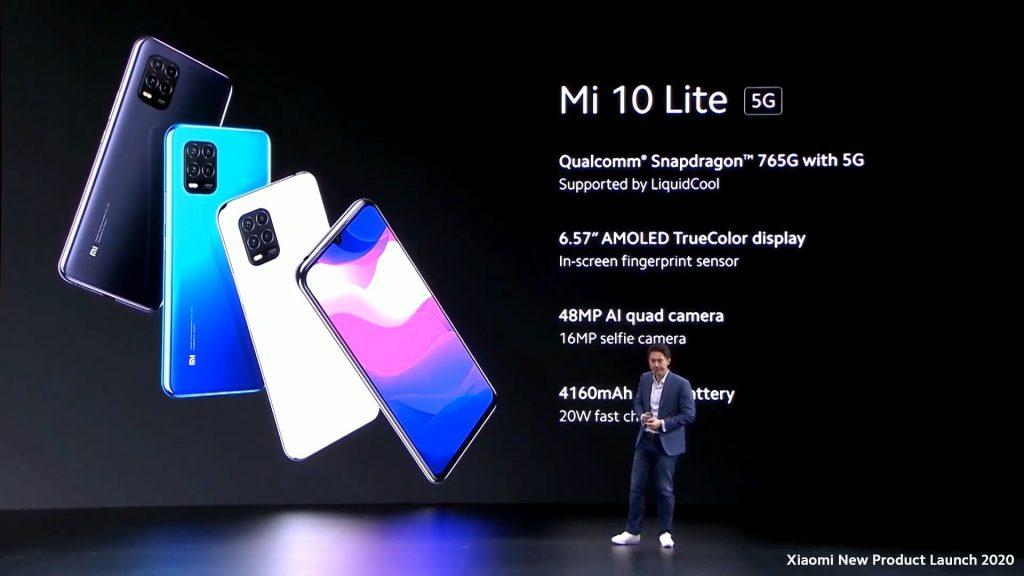 Бюджетный флагман Xiaomi Mi 10 Lite с 5G представили в Европе