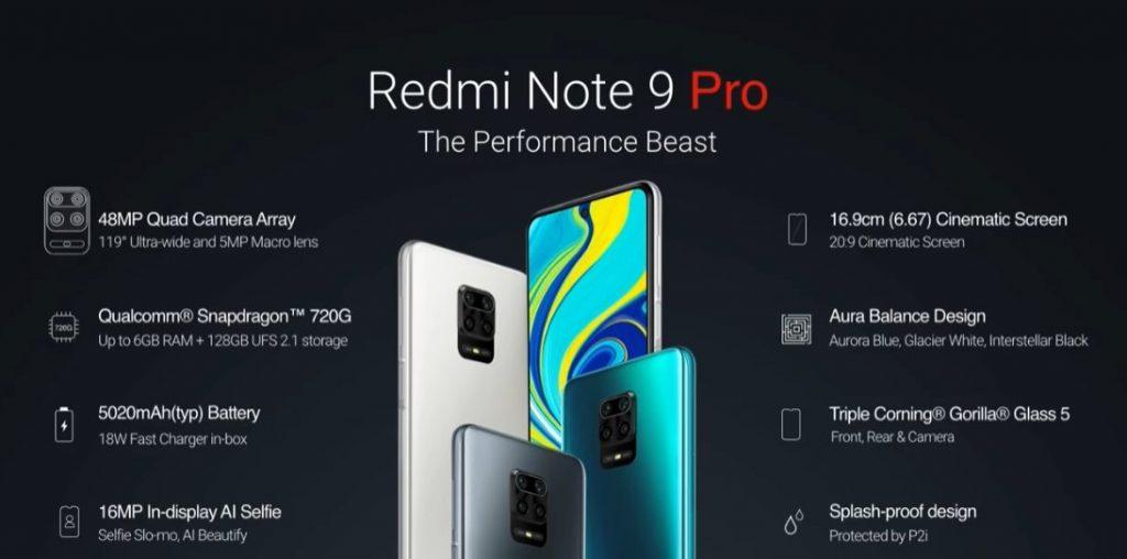 Xiaomi анонсировала в РФ новую версию Redmi Note 9 Pro