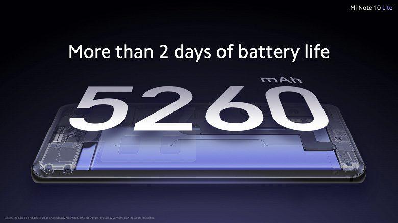 Представлен среднебюджетный камерофон Xiaomi Mi Note 10 Lite