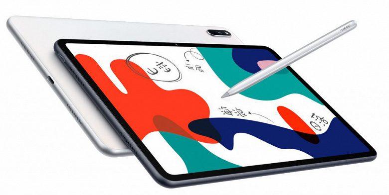Huawei представила недорогой планшет MatePad со стилусом
