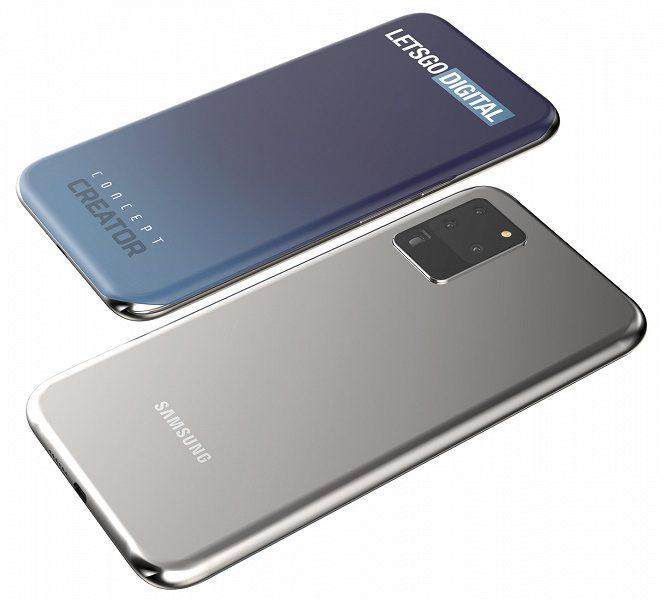 Samsung запатентовала для смартфонов экран нового типа