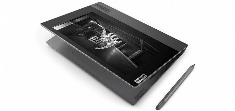 Ноутбук Lenovo ThinkBook Plus с E Ink экраном появился в продаже