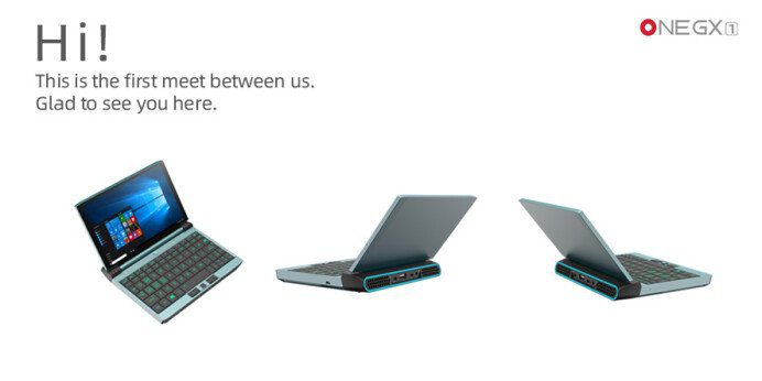Мини-ноутбук на Intel Tiger Lake анонсирован официально