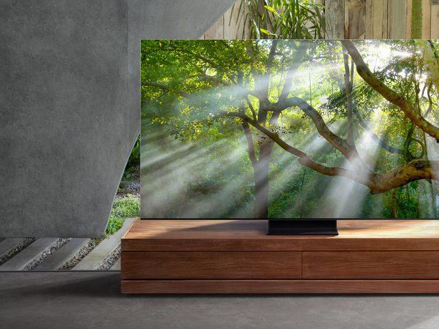 Samsung оценила флагманский телевизор QLED 8K в 1 миллион рублей