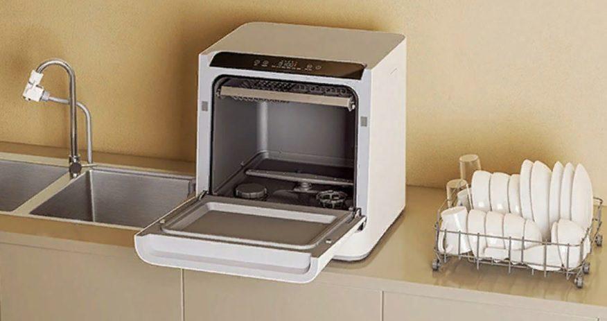 """Названа стоимость """"умной"""" настольной посудомоечной машины от Xiaomi"""
