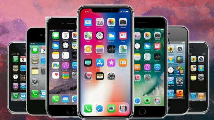 Модели iPhone, совершившие революцию