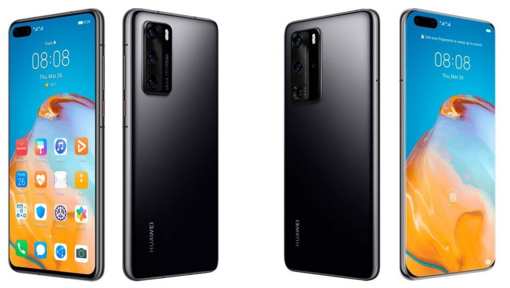 В России появились смартфоны Huawei P40 и P40 Pro