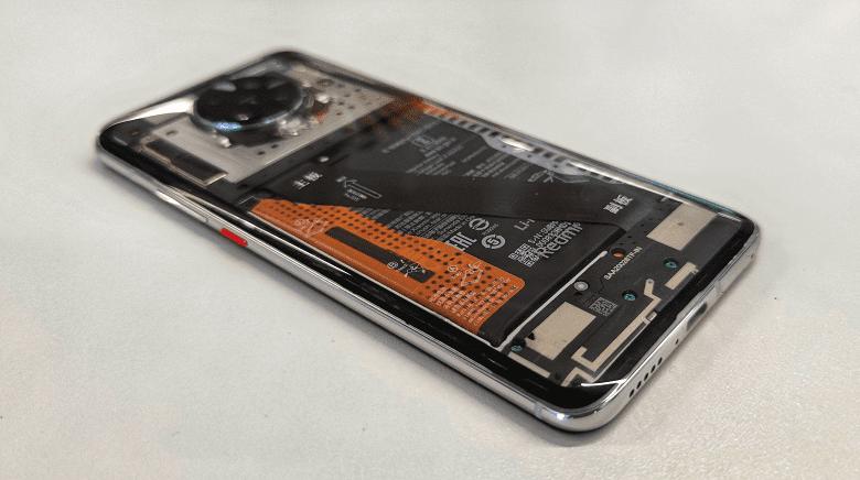 Xiaomi продемонстрировала прозрачный Redmi K30 Pro