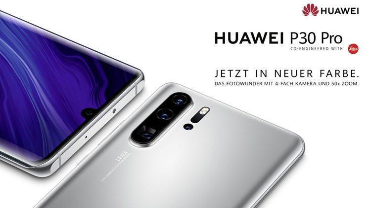 Huawei P30 Pro New Edition с сервисами Google оценили в 749 евро