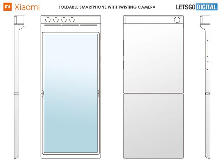 Первая раскладушка Xiaomi может получить поворотный блок камеры