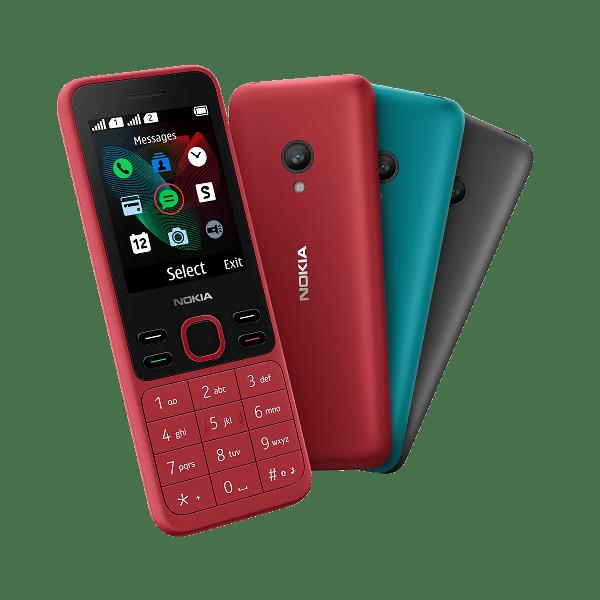 Названы цены на новые телефоны Nokia 125 и Nokia 150 в России