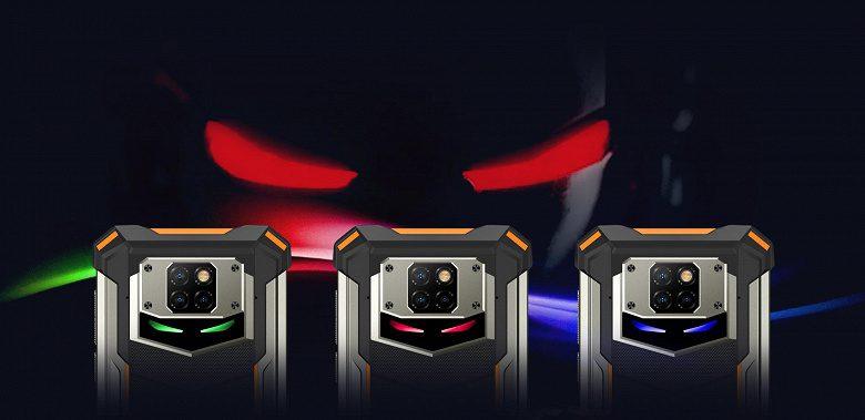 «Неубиваемый» Doogee S88 Pro получил цветную внешнюю подсветку