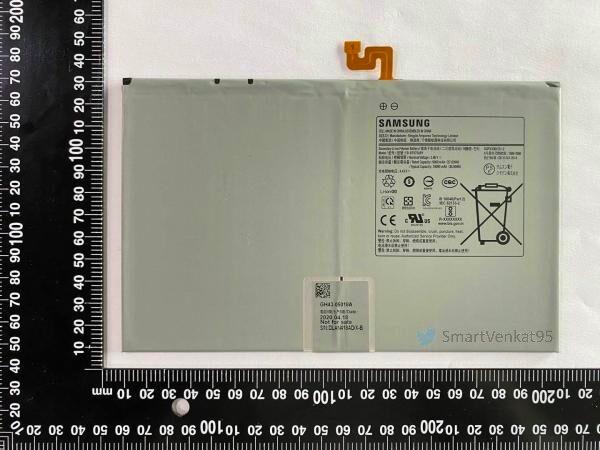 Флагманский планшет Samsung получит батарею на 10 090 мАч