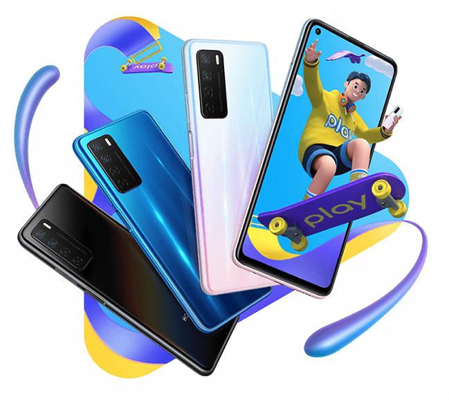 Представлен недорогой 5G-смартфон Honor Play 4