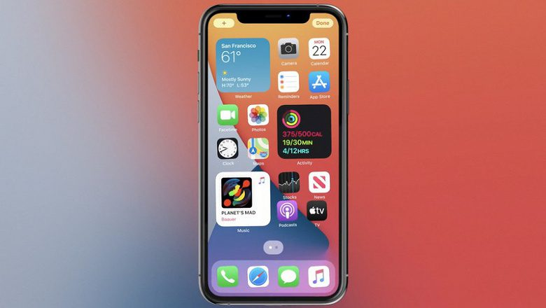 Apple презентовала новую версию операционной системы iOS 14