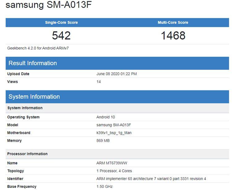 В линейке смартфонов Samsung Galaxy A появится смартфон за 100 долларов