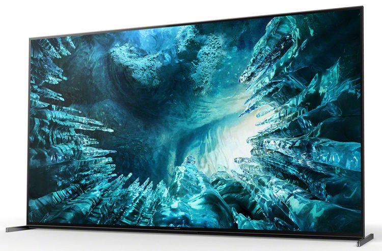 В России стартовали продажи 8K-телевизора Sony Bravia KD-75ZH