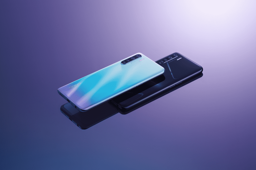 OPPO представила новый смартфон OPPO A91 с четверной камерой
