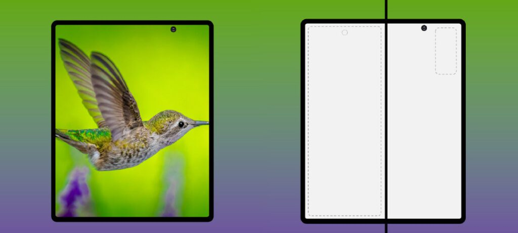 Дизайн складного Samsung Galaxy Fold 2 раскрыли до анонса