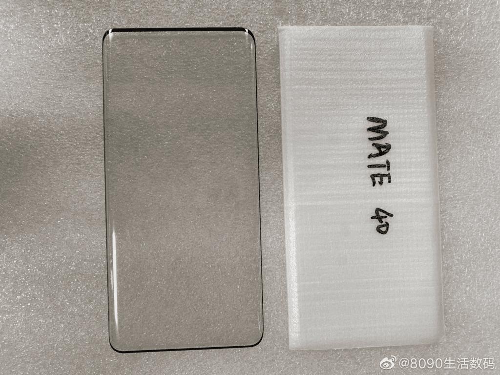 На живом фото показали Huawei Mate 40 с очень тонкими рамками