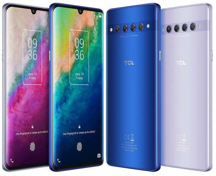 TCL представила в РФ бюджетные смартфоны TCL 10 Plus и 10 SE