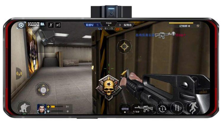 Lenovo представила очень мощный игровой смартфон Legion Duel