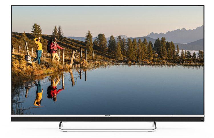 Nokia представила 65-дюймовый 4K-телевизор
