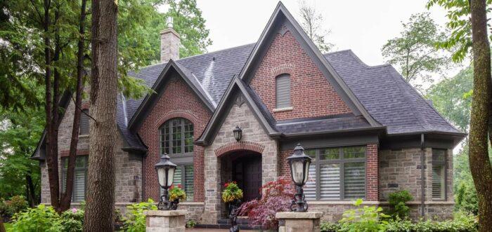 Каким камнем отделывать дом?