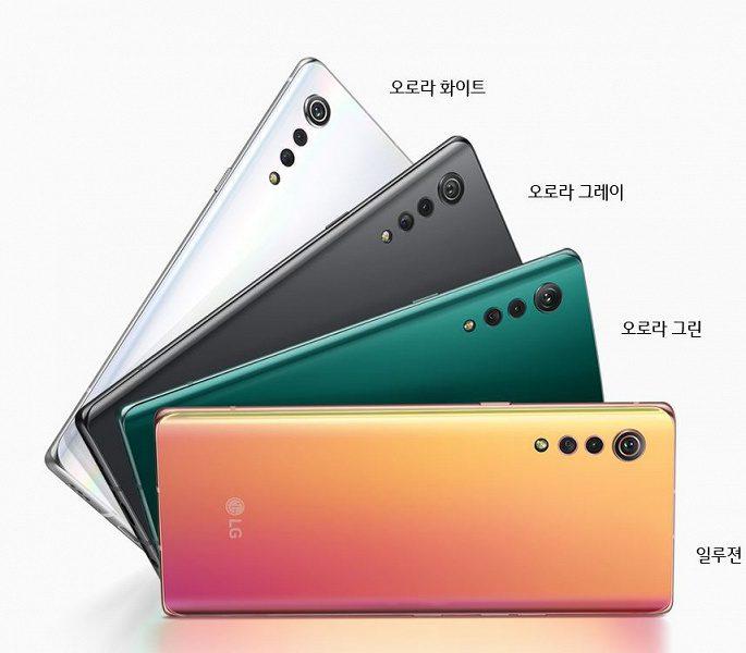 LG представила более доступную версию смартфона LG Velvet