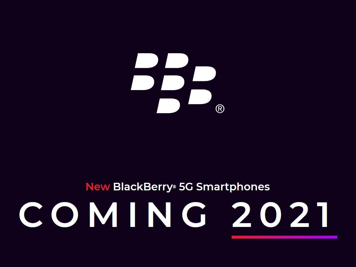Смартфоны BlackBerry возродят в 2021 году