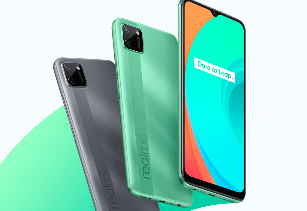 Realme C11 с батареей на 5000 мАч вышел в России по цене 8 990 рублей