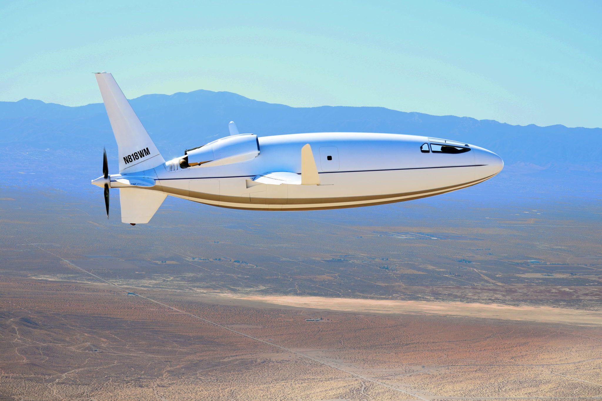 Американская компания Otto Aviation представила проект самолета-пули Celera 500L