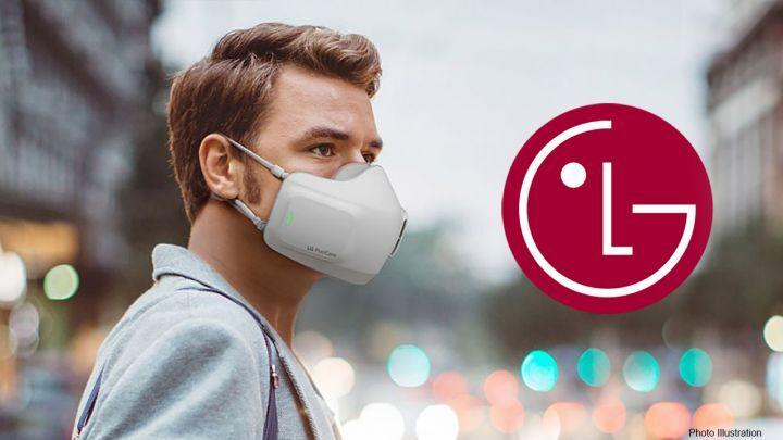 Компания LG представила надеваемый очиститель воздуха