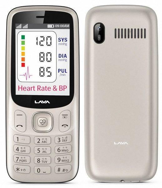 Первый в мире кнопочный телефон с датчиком пульса продаётся за 1,6 тыс рублей