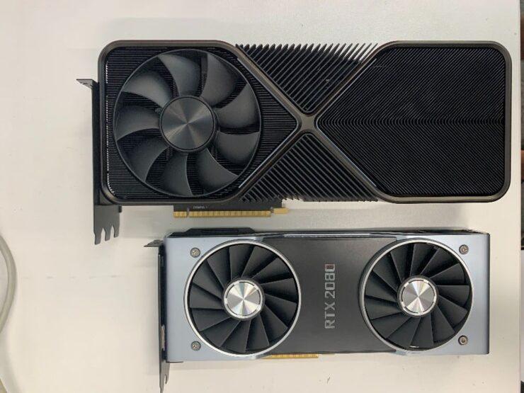Опубликованы снимки видеокарты нового поколения GeForce RTX 3090
