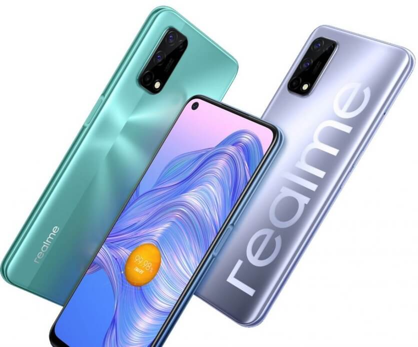 Realme презентовала бюджетный 5G-смартфон Realme V5