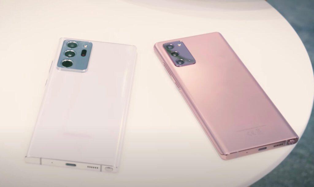 Samsung представил новую линейку флагманских смартфонов Galaxy Note20